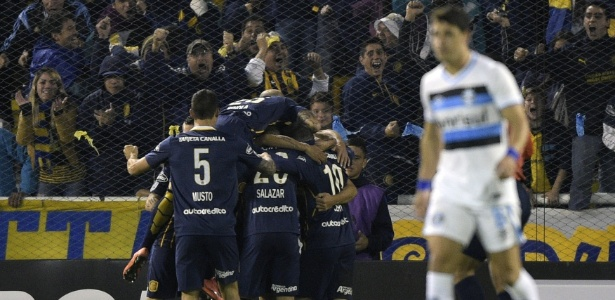 Gigante de Arroyito no jogo Rosario Central x Grêmio na Libertadores 2016