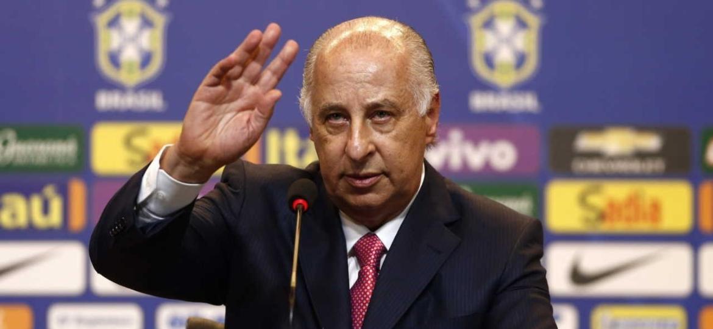 Marco Polo del Nero, ex-presidente da CBF, teve seu caso arquivado pelo MP-SP - Marcelo Sayão/EFE