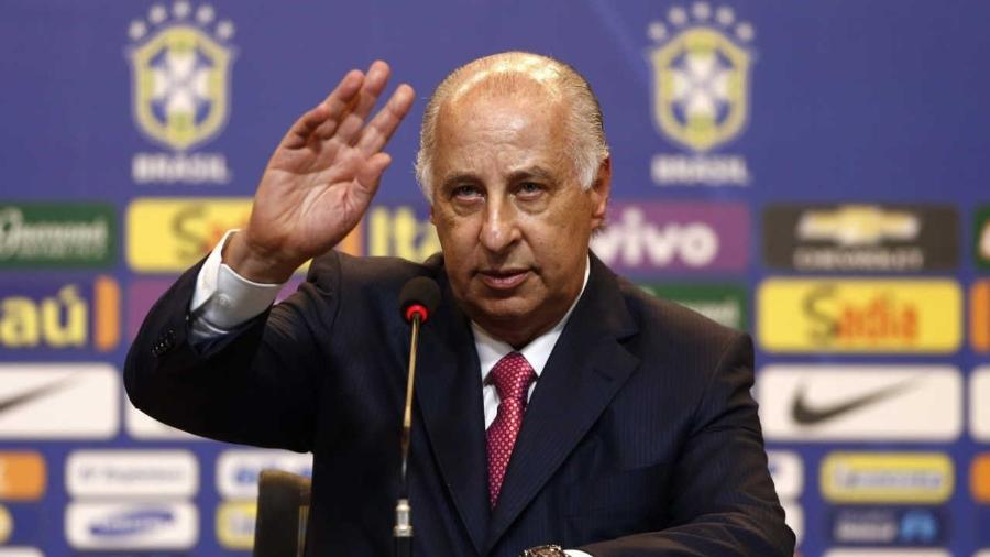 Ex-presidente da CBF, Del Nero foi banido do futebol e deve perder posição no Conselho do Palmeiras - Marcelo Sayão/EFE