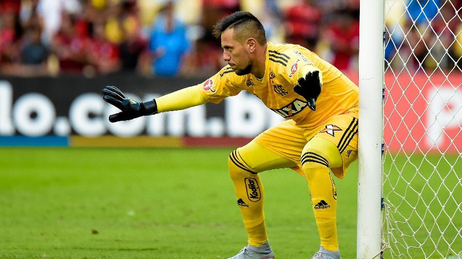 Diego Alves foi o principal destaque do Flamengo na vitória na estreia da Libertadores - Thiago Ribeiro/AGIF