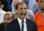"""Allegri questiona expulsão de CR7: """"é por isso que o VAR ajuda os árbitros"""" - REUTERS/Sergio Perez"""