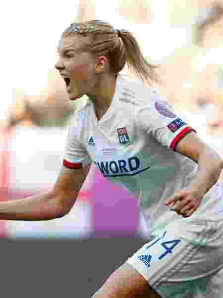 Ada Hegerberg Lyon Barcelona Liga dos Campeões - Bernadett Szabo/Reuters