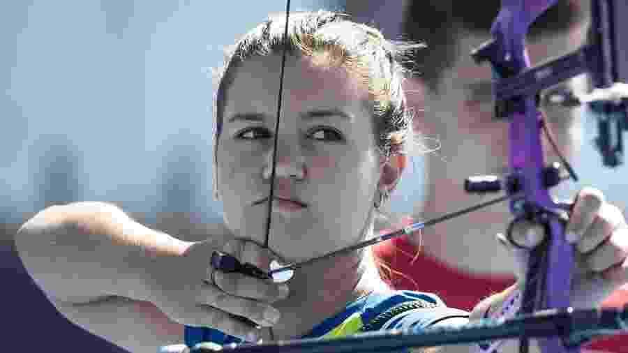 Ana Luiza Caetano na Olimpíada da Juventude de Buenos Aires, em 2018 - Jonne Roriz/Exemplus/COB