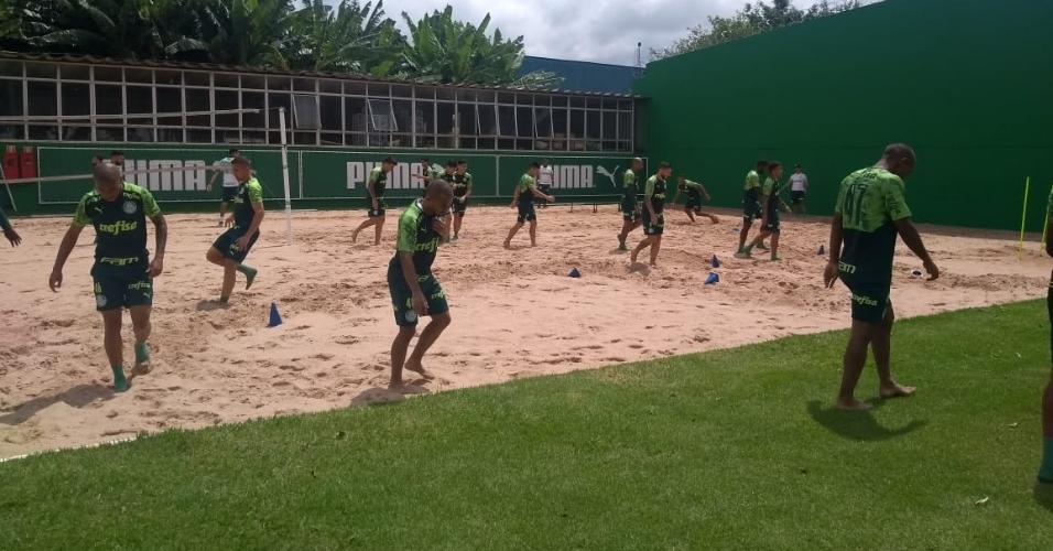 Caixa de areia Palmeiras Academia de Futebol