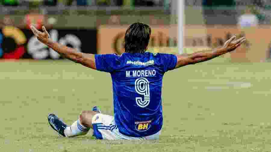 Marcelo Moreno lamenta fase do Cruzeiro na Série B do Campeonato Brasileiro 2020 - Alessandra Torres/AGIF