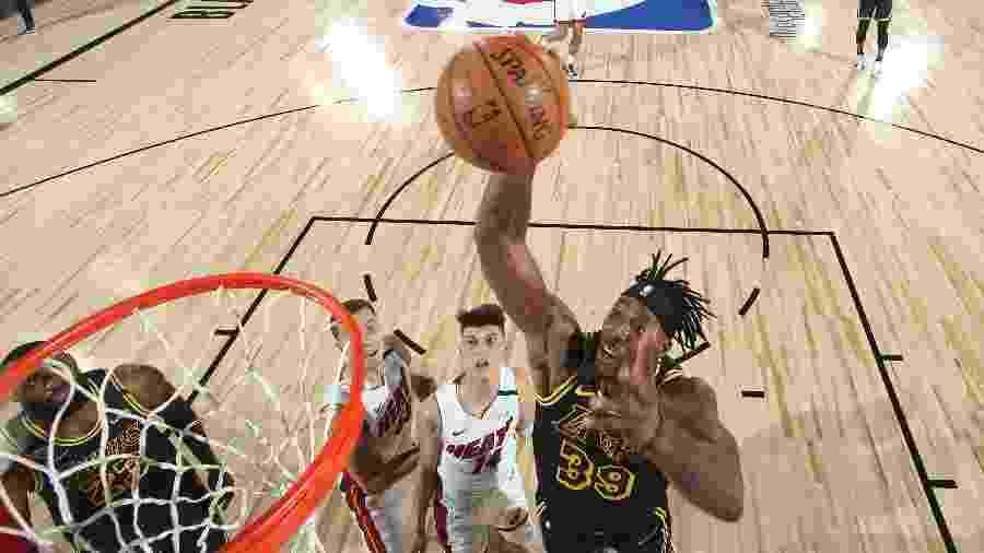 Dwight Howard no segundo jogo da final da NBA - Nathaniel S. Butler/NBAE via Getty Images