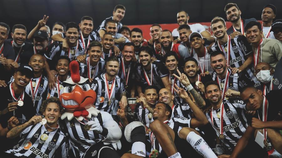 O Atlético-MG é o maior vencedor de títulos do Campeonato Mineiro; são 46 em toda sua história - Pedro Souza/Atlético