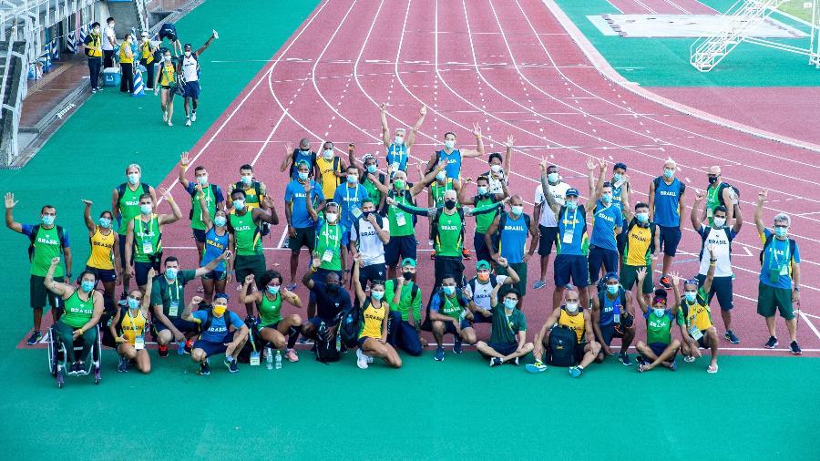 Treino do Atletismo em Hamamatsu, cidade-sede da delegação Brasileira para aclimatação antes dos Jogos Paralímpicos de Tóquio - ALE CABRAL/CPB