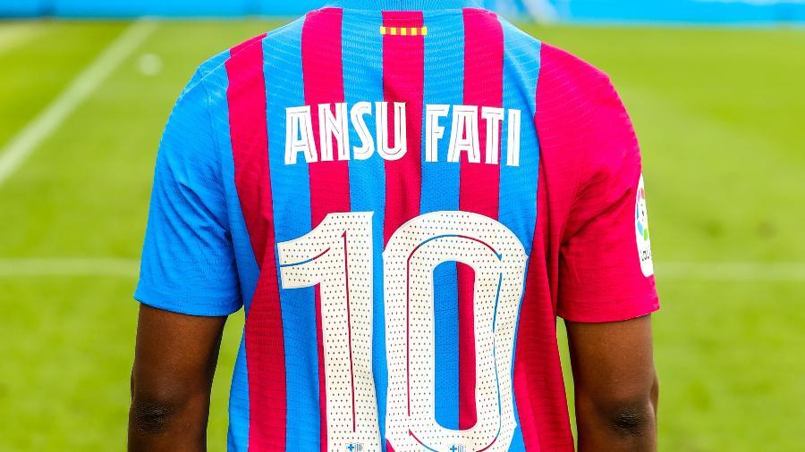 Ansu Fati é o novo camisa 10 do Barcelona - Divulgação