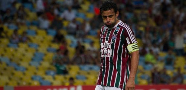 Fred quando atuava pelo Fluminense