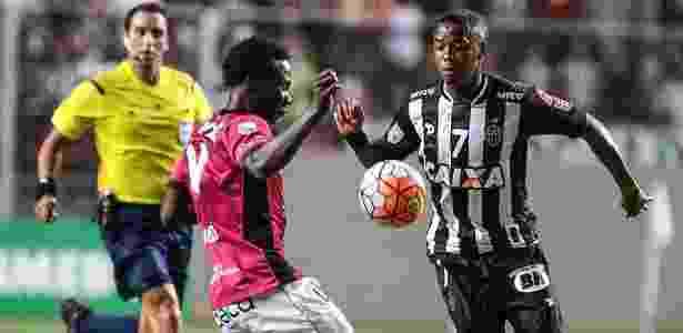 Robinho ficou 38 minutos em campo na estreia pelo Atlético-MG - Bruno Cantini/Clube Atlético Mineiro