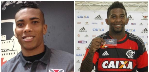 Madson e Rodinei são conhecidos pela irreverência em Vasco e Flamengo - Bruno Braz / Gilvan de Souza