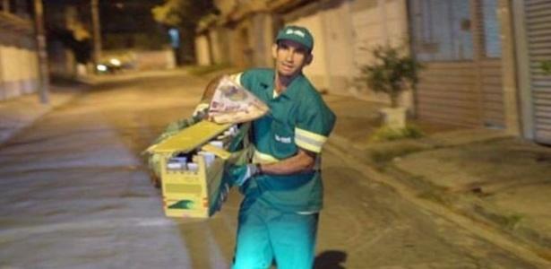 Ivanildo Dias de Souza trabalha na limpeza urbana e também é corredor - Damasco Filmes