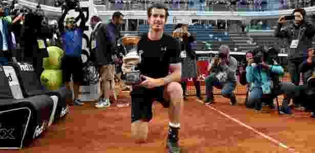 Murray -  AFP PHOTO / TIZIANA -  AFP PHOTO / TIZIANA