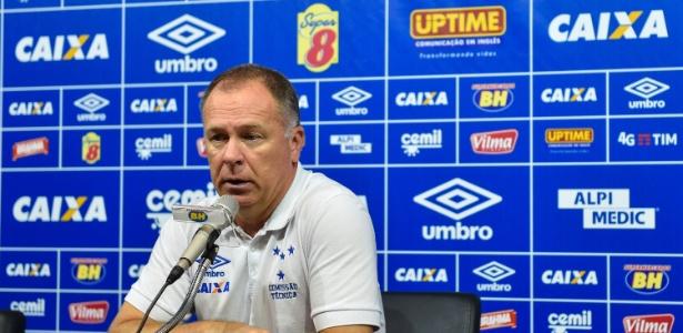 Mano Menezes, técnico do Cruzeiro - Yuri Edmundo/Light Press/Cruzeiro