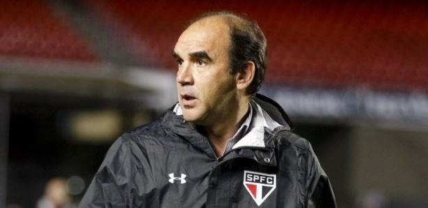 Técnico já ensaiou time que entrará contra o Flamengo - Rubens Cavallari/Folhapress