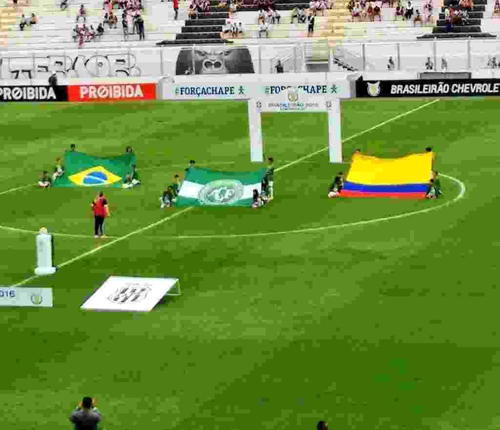Fotos  As homenagens à Chapecoense na 38ª rodada do Campeonato ... c41674245b067