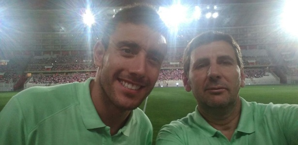 Alan Ruschel (esquerda) em jogo com time Sub-23 da Chape: expectativa na Libertadores