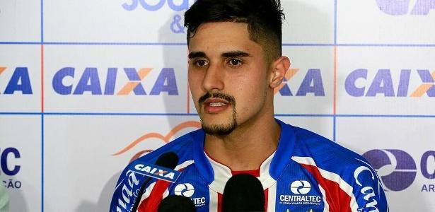 Thiago Martins foi emprestado pelo Palmeiras ao Bahia em 2017