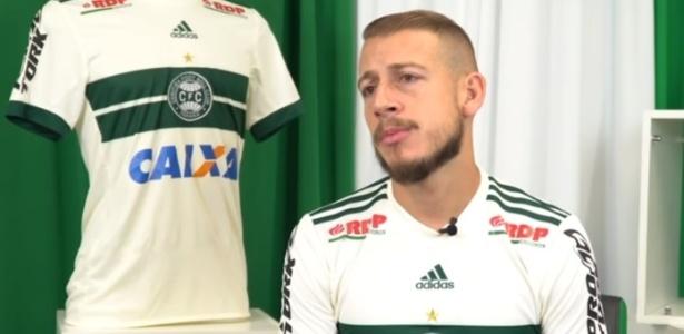 Uillian Correia já falou como jogador do Coritiba