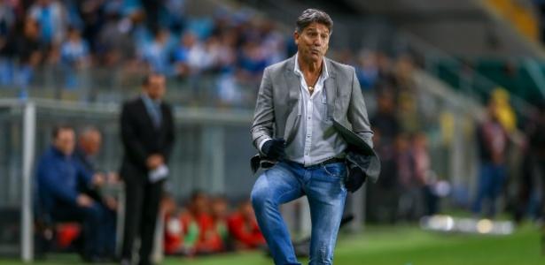 Renato Gaúcho passa por processo de negociação com o Grêmio de olho em 2019 - Lucas Uebel/Grêmio FBPA