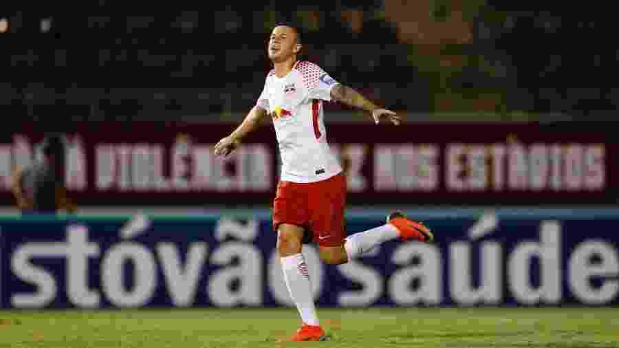 Jobson comemora gol contra a Ferroviária - Divulgação/Red Bull Brasil