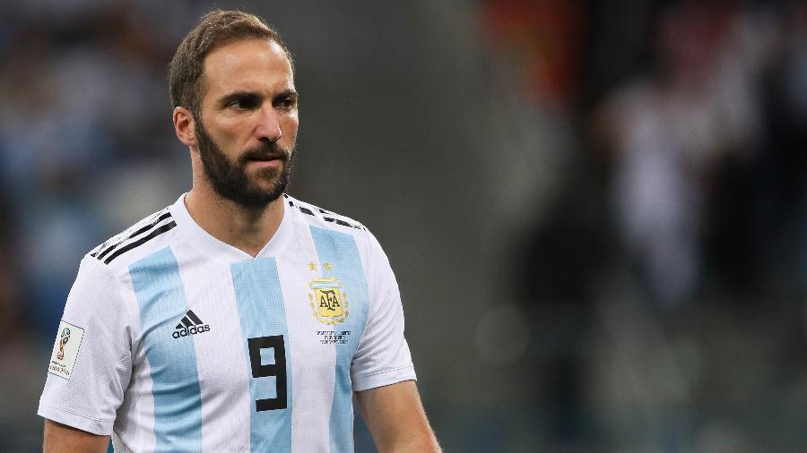 Higuaín deve seguir na Juventus, segundo o pai, que não considera o momento ideal para retorno - Matthew Ashton - AMA/Getty Images