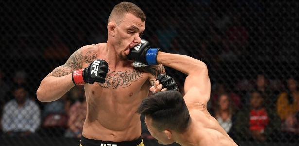 UFC Greenville | Renato Moicano é nocauteado em 1min, e Brasil sai sem vitória
