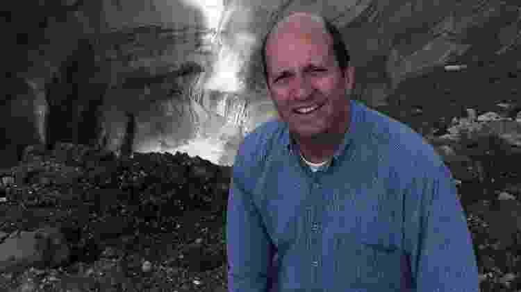 Marcos Uchoa explora o umbigo do mundo, na Sibéria, para o Fantástico, no ar 06/09 - Globo/ Divulgação - Globo/ Divulgação