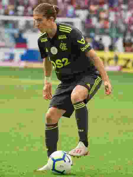 Filipe Luis, lateral esquerdo do Flamengo - Alexandre Vidal / Flamengo