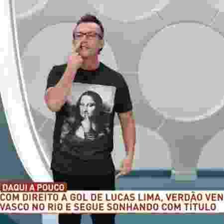 Neto, apresentador do Os Donos da Bola - Reprodução/ TV Bandeirantes