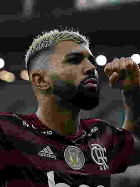 Gabriel Barbosa, o Gabigol, atacante do Flamengo - Thiago Ribeiro/AGIF