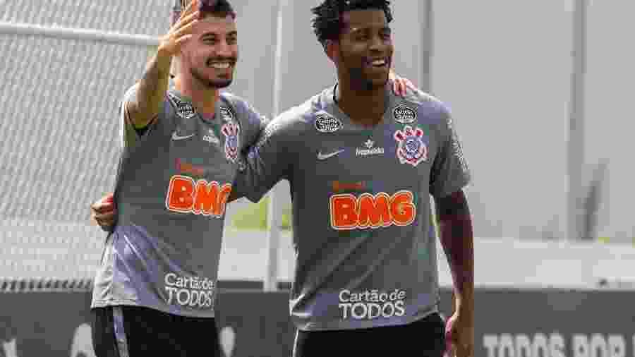 Recuperado, Pedro Henrique deve estar mais uma vez ao lado de Gil na zaga do Corinthians - Agência Corinthians/Daniel Augusto