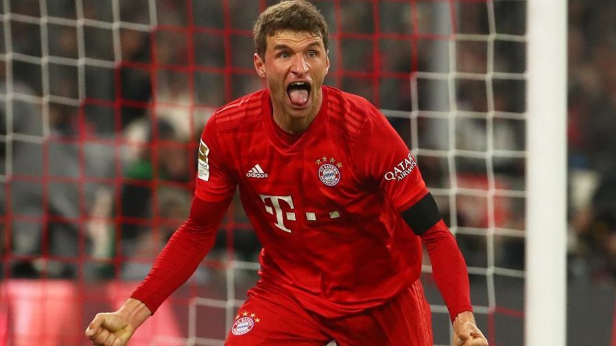 Thomas Müller é um dos destaques do Bayern na temporada - Reuters