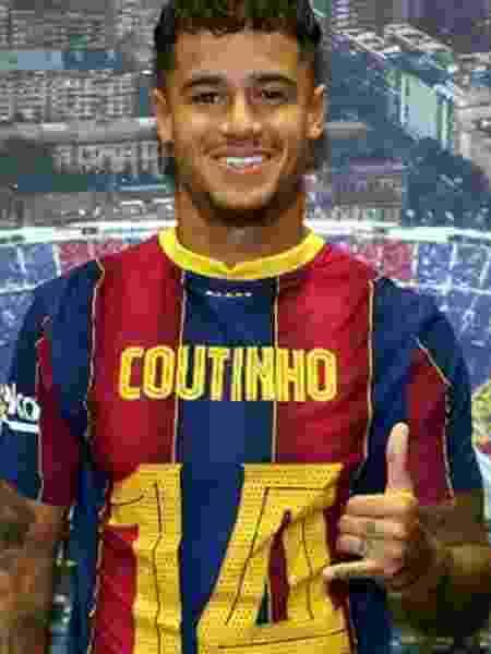 Meia brasileiro volta a vestir a camisa 14 no Barcelona após retornar de empréstimo - Reprodução/Twitter
