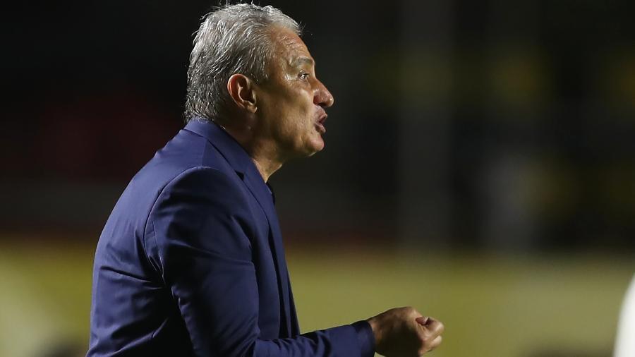 O técnico da seleção brasileira, Tite, falou sobre as seleções mais fortes atualmente - Fernando Bizerra - Pool/Getty Images