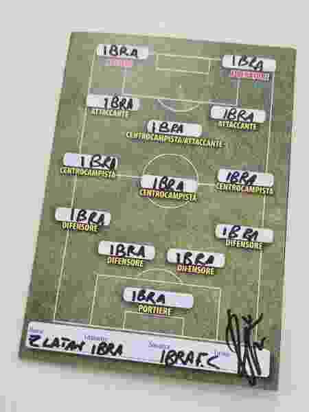 Zlatan Ibrahimovic monta time no qual ele ocupa todas as posições em campo - Reprodução/Instagram