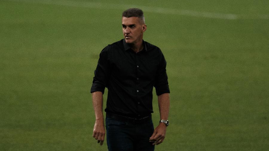 Vagner Mancini comanda o Corinthians em duelo contra o Athletico pelo Brasileirão 2020 - Ettore Chiereguini/AGIF