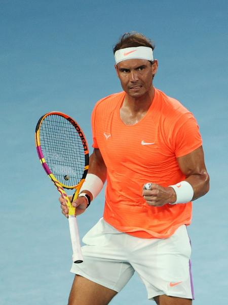 Rafael Nadal no Australian Open 2021 - Reuters