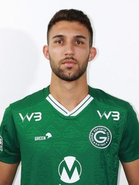 Henrique Lordelo, meia do Goiás - Divulgação/Site oficial do Goiás
