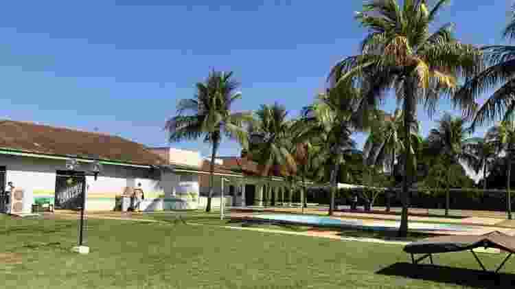 Centro de treinamento do Cuiabá foi construído em local onde antes era um hotel fazenda  - Bruno Braz / UOL Esporte - Bruno Braz / UOL Esporte