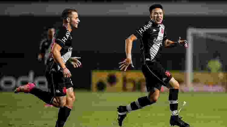 Marquinhos Gabriel comemora o seu gol no empate em 2 a 2 do Vasco com o CSA pela Série B - Rafael Ribeiro / Vasco - Rafael Ribeiro / Vasco