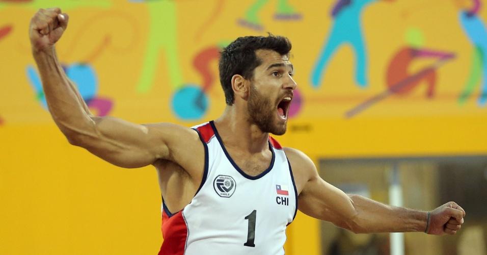 Marco Grimalt, chileno do vôlei de praia