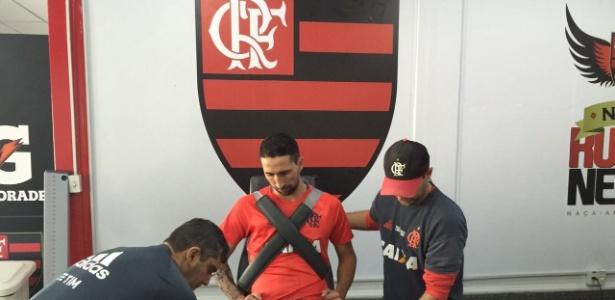 Donatti teve poucas oportunidade com a camisa do Flamengo