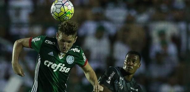 Fabiano ganhou espaço nas últimas semanas e engatou a maior sequência no Palmeiras