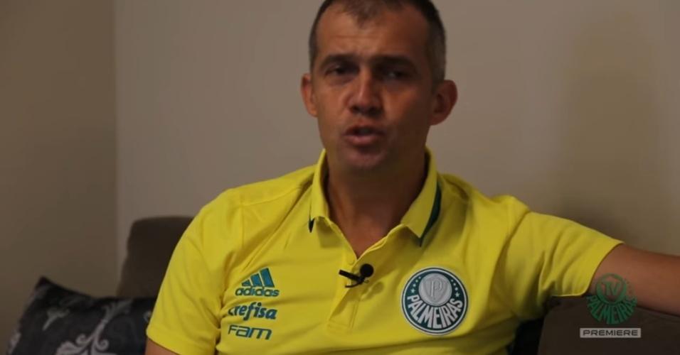 Eduardo Baptista Palmeiras camisa