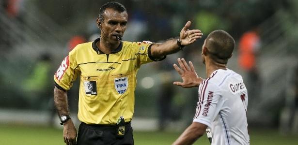 A escolha do árbitro Dewson Freitas para a final do Mineiro desagradou ao Cruzeiro