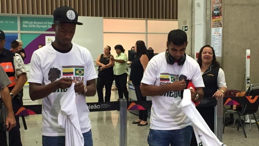 Sornoza e Orejuela chegaram ao Fluminense após se destacaram pelo Del Valle - UOL