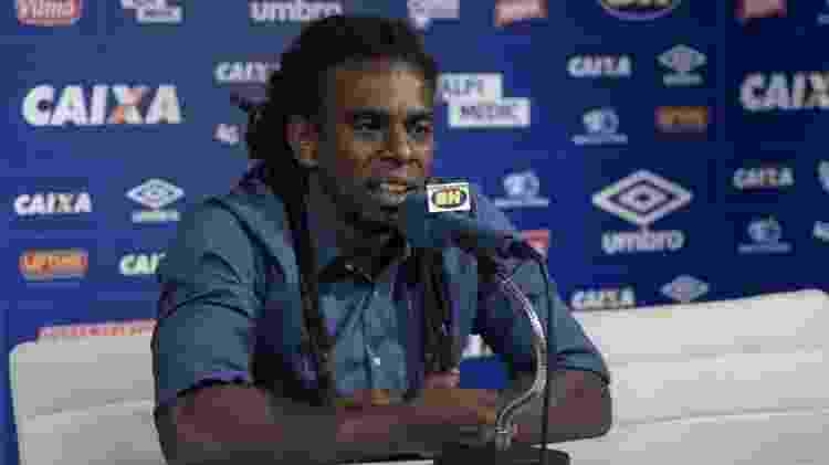 Tinga, novo gerente de futebol do Cruzeiro - Washington Alves/Light Press/Cruzeiro - Washington Alves/Light Press/Cruzeiro