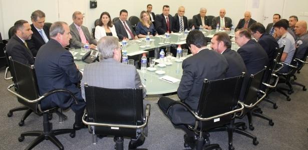 Reunião ocorreu nesta quarta-feira